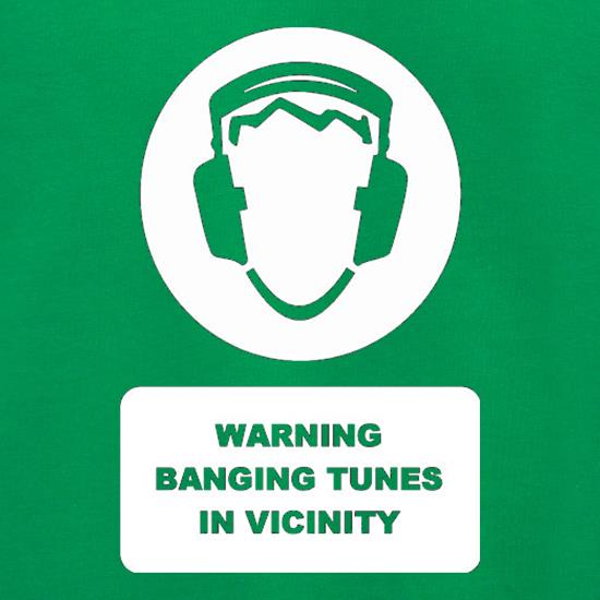Warning Banging Tunes In Vicinity Jumpers