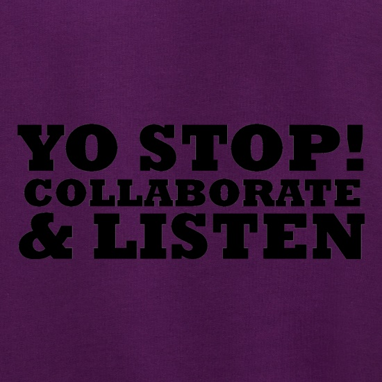 Yo Stop! Collaborate and listen Jumpers