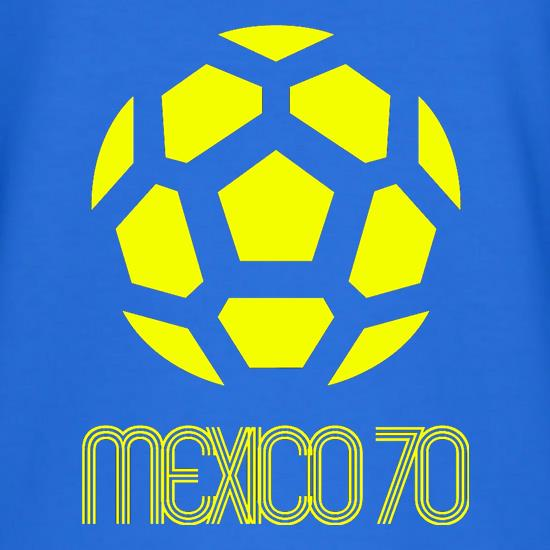 1970 World Cup Mexico T-Shirts for Kids
