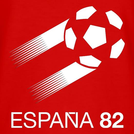 1982 World Cup Espana T-Shirts for Kids