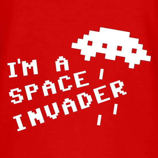 I'm A Space Invader T-Shirts for Kids