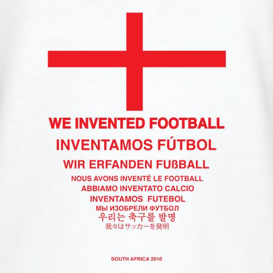 We Invented Football T-Shirts for Kids