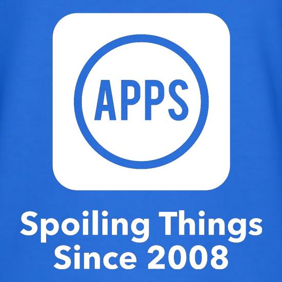 Apps Spoiling Things Since 2008 T-Shirts for Kids