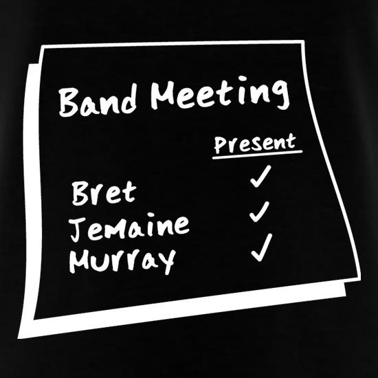 Band Meeting T-Shirts for Kids