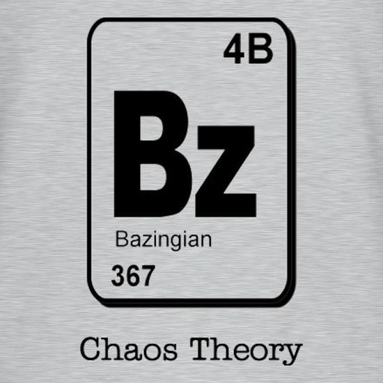 Bazinga Chaos Theory T-Shirts for Kids