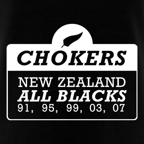 Chokers New Zealand All Blacks T-Shirts for Kids