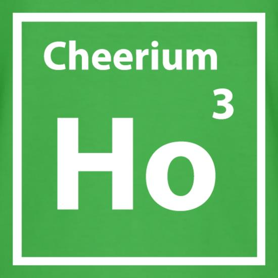 Christmas Element Cheerium Ho Ho Ho T-Shirts for Kids