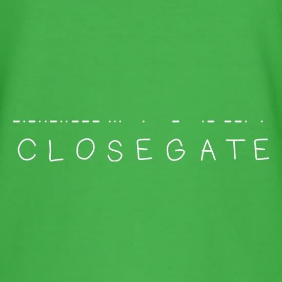 Close Gate T-Shirts for Kids