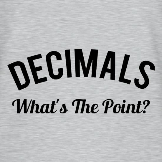 Decimals What's The Point T-Shirts for Kids