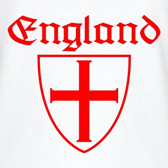 England Shield T-Shirts for Kids