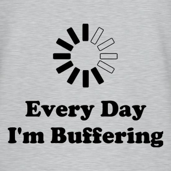 Every Day I'm Buffering T-Shirts for Kids