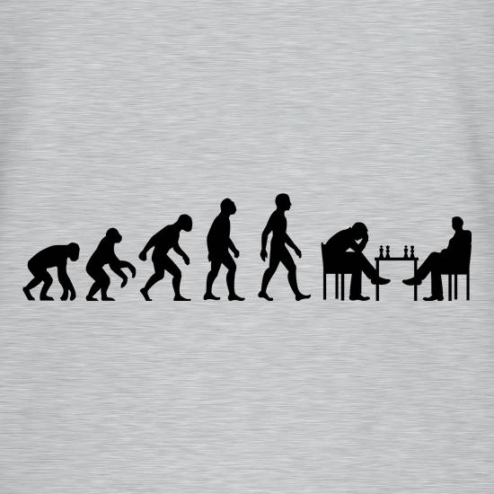 Evolution Of Man Chess T-Shirts for Kids