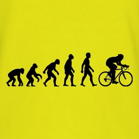 Evolution of Man Cycling T-Shirts for Kids