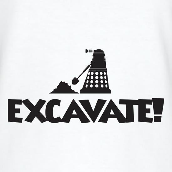 Excavate T-Shirts for Kids