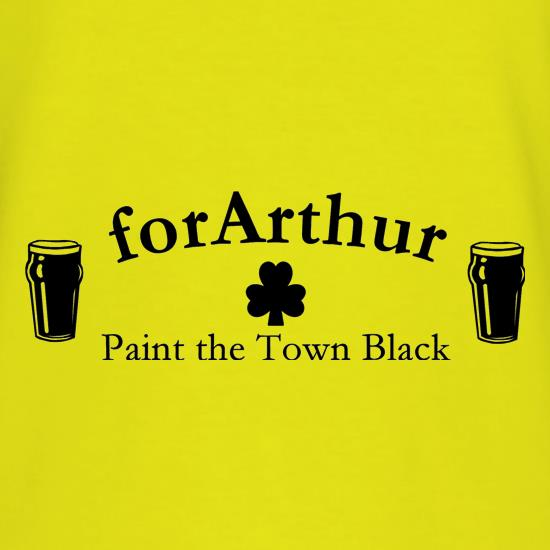 for Arthur! Paint the town black T-Shirts for Kids