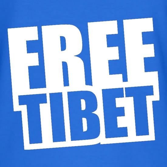 Free Tibet T-Shirts for Kids