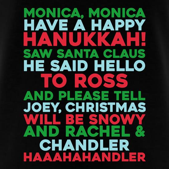 Friends Christmas Song T-Shirts for Kids