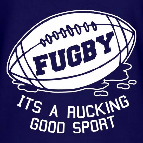 Fugby It's A Rucking Good Game T-Shirts for Kids