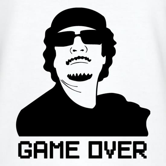 Game Over Gaddafi T-Shirts for Kids