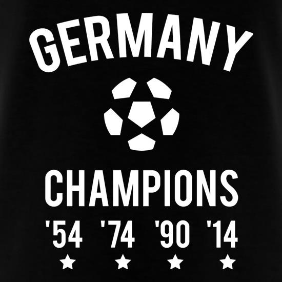Germany Champions T-Shirts for Kids