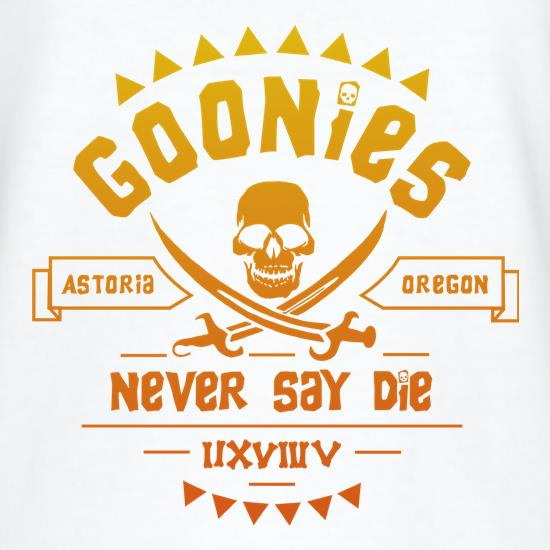 Goonies Never Say Die T-Shirts for Kids