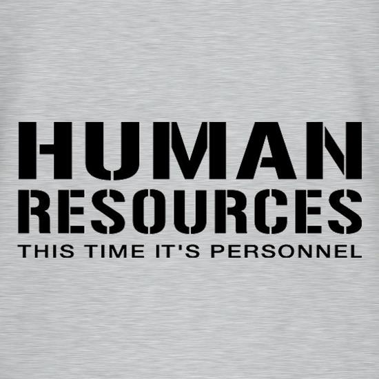 Human Resources This Time It's Personnel T-Shirts for Kids