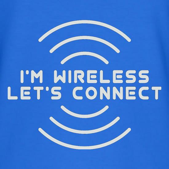 I'm Wireless Let's Connect T-Shirts for Kids