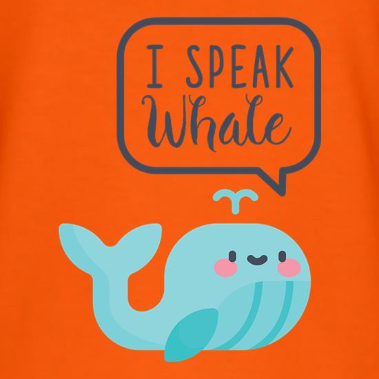 I Speak Whale T-Shirts for Kids