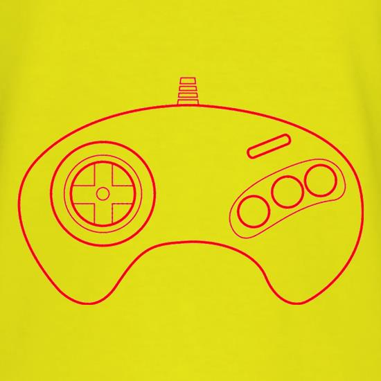 Megadrive Joypad T-Shirts for Kids