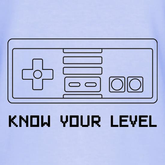 Know Your Level T-Shirts for Kids