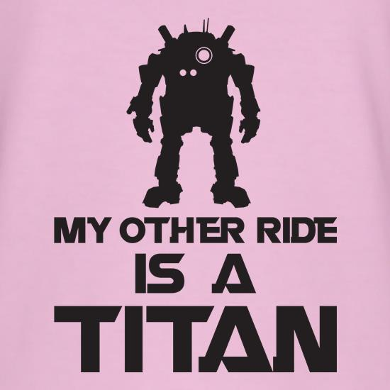 My Other Ride Is A Titan T-Shirts for Kids