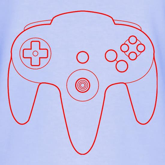 N64 Joypad T-Shirts for Kids