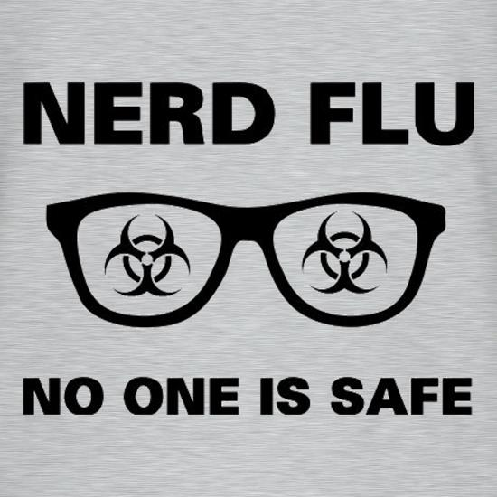 Nerd Flu No One Is Safe T-Shirts for Kids