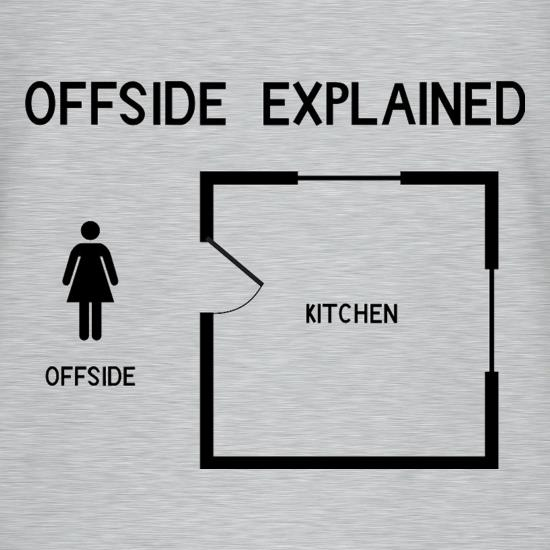 Offside Explained T-Shirts for Kids