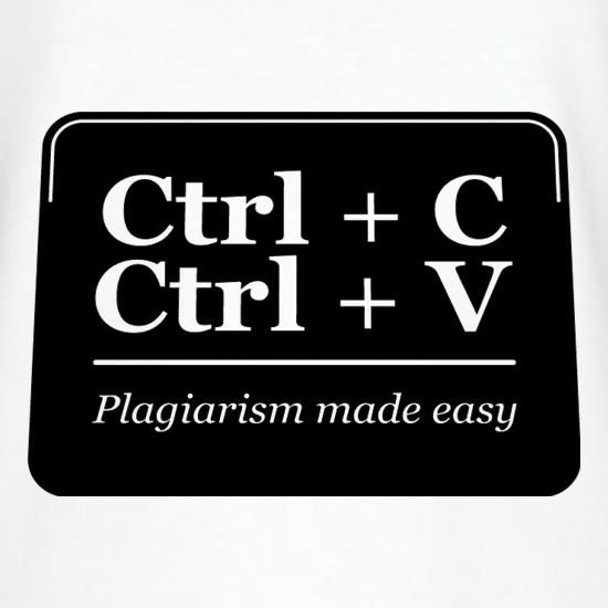 Plagiarism Made Easy T-Shirts for Kids