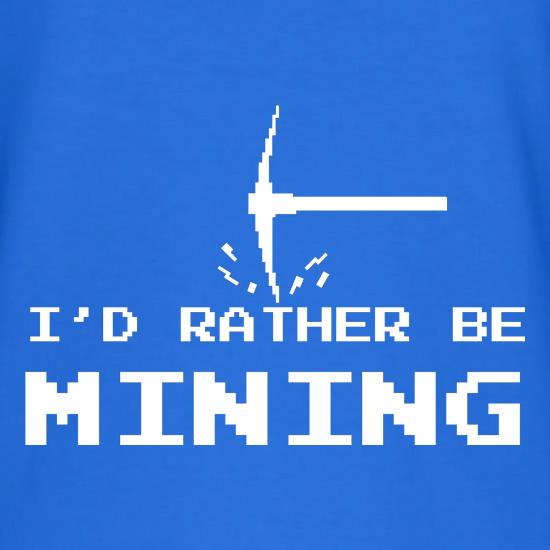 Rather Be Mining T-Shirts for Kids