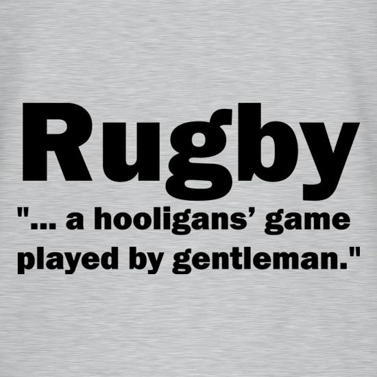 Rugby A Hooligans Game T-Shirts for Kids