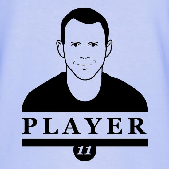 Ryan Giggs Player T-Shirts for Kids