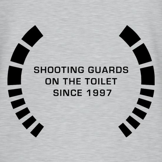 Shooting Guards On The Toilet Since 1997 T-Shirts for Kids