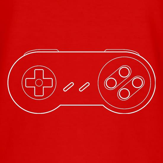 SNES Joypad T-Shirts for Kids