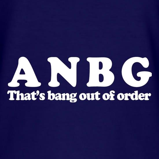ANBG That's Bang Out Of Order T-Shirts for Kids