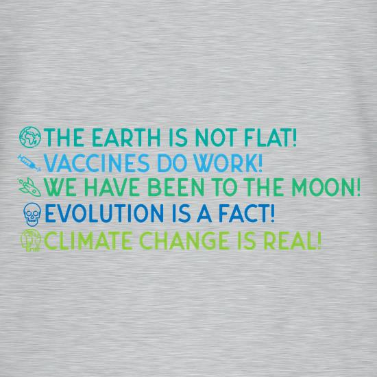 The Earth Is Not Flat T-Shirts for Kids