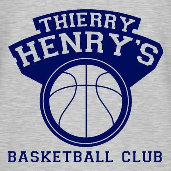 Thierry Henry's Basketball Club T-Shirts for Kids