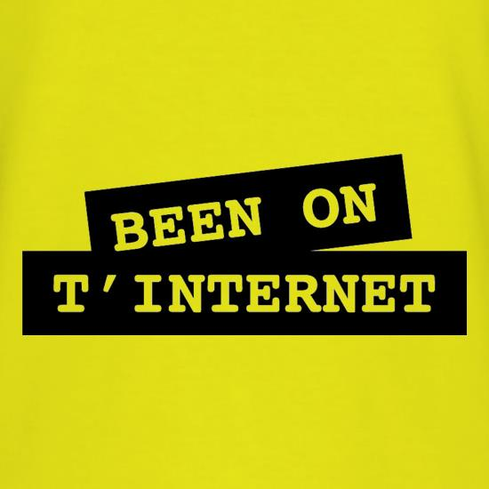 Been on t-internet T-Shirts for Kids