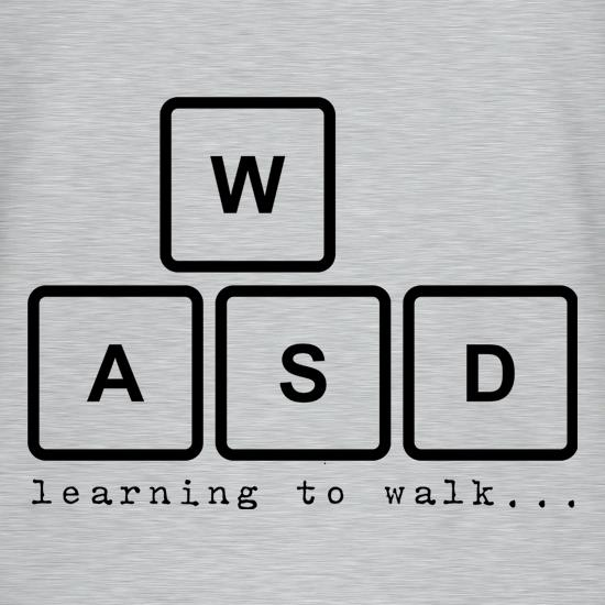 WASD Learning To Walk T-Shirts for Kids