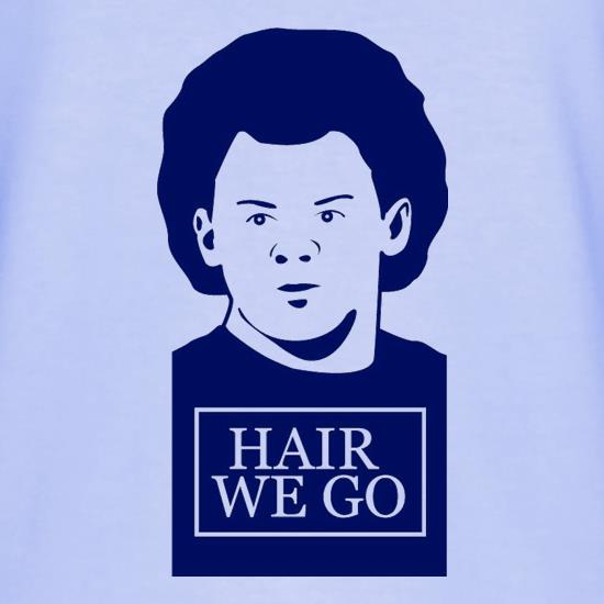 Wayne Rooney Hair We Go T-Shirts for Kids