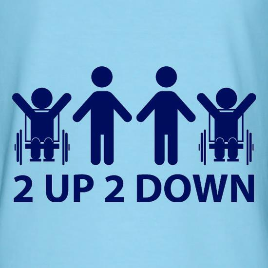 2 Up 2 Down t-shirts