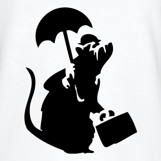 Banksy - Executive Rat t-shirts