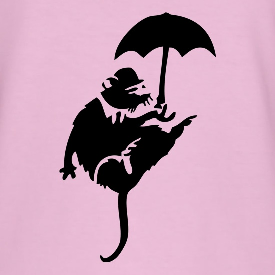 Banksy Flying Rat t-shirts