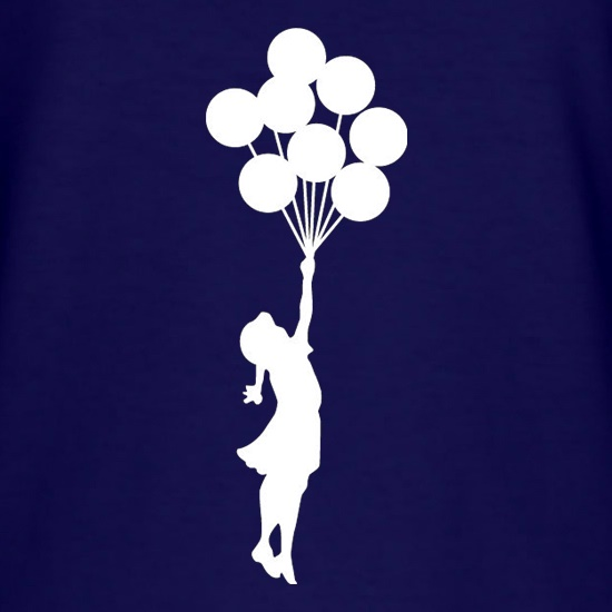 Banksy Girl t-shirts